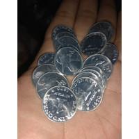 GRESS BAGUS ASLI 21 rupiah Koin Mahar Uang Kuno