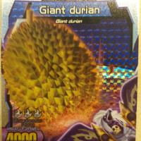 Kartu Strong Animal Kaiser Evolution S5 Giant Durian ( Miracle Card )