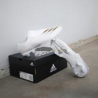 Sepatu Bola Adidas X Ghosted.3 FG White Gold Original EG8193