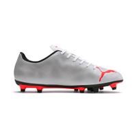 Puma Men Rapido FG White Light Gray Heather Shoes-10479803