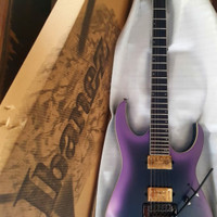 Ibanez Axion Label RG60ALS - Black Aurora Burst Matte Electric Guitar