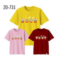 Kaos Imlek Bayi Anak Remaja Dewasa Oversize Family/Baju Kaos Sincia 26