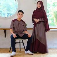 Baju Couple muslim pasangan baju pasangan kondangan