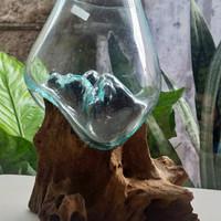 aquarium aquascape full set mini kaca tiup cupang gappy