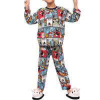 Setelan Anak Laki Perempuan 1-9 Tahun Mickey Ludy/ Baju Tidur Anak - S