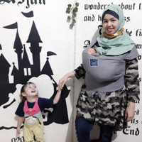 Hanaroo Babywrap Polos Nyaman dan Aman (5 meter)