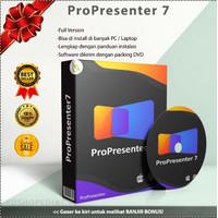 ProPresenter 7 for MacOS & Windows - Software Presentasi & Broadcaster - Dokumen (Email)