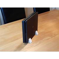Aksesoris Game stand dudukan vertical untuk PS4 Slim