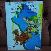 Buku komik Asterix Perjalanan Keliling Galia