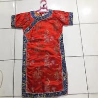 Baju Ciongsam Cewek Warna Merah ukuran 13