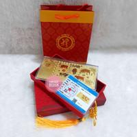 hadiah unik angpao emas hongkong imlek tahun baru china 24k 99.9 karat