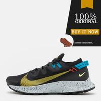 CK4305-001 Sepatu Running Original Nike Pegasus Trail 2 - Black/Sulfur