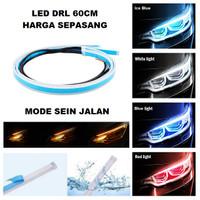 Lampu LED Alis DRL 60 CM Mobil Motor 60CM Sein Running Grade A+