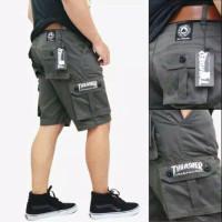 Celana Pendek Cargo Pria Gunung PDL Army Doreng Motif Mma Casual