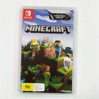 Minecraft switch game fisik