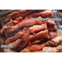 Sei Babi Asap Premium Bali kemasan 500 gram PORKY