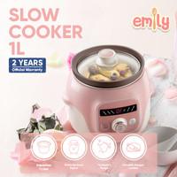 Emily Slow Cooker Claypot 1L (ESC-34003)