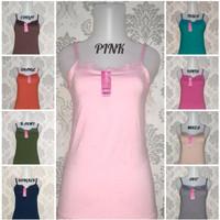 Tanktop Renda Kaos Dalam Singlet Fashion Wanita Non Piyama Non Bra