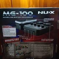 Efek Gitar Bas MG-100 NUX