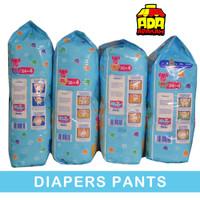 Baby Happy Pants M34, L30, XL26, XXL24 [M 34+4 L 30+4 XL 26+4 XXL 24+4