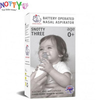 Snotty Three Battery Operated Nasal Aspirator