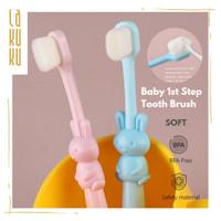 Sikat gigi bayi anak balita - Baby Tooth Brush bulu sikat lembut dan a