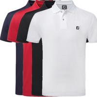 Polo shirt Pria Kaos Kerah Logo Foot Joy Golf