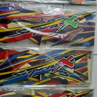 striping / list body motor Supra x 2004
