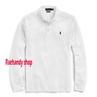 Polo shirt Ralph Laurent Kaos Kerah Lengan Panjang Polo Ralph Lauren