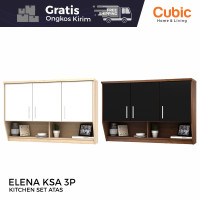 Cubic Kitchen Set 3 Pintu Minimalis / Rak Atas Dapur / ELENA KSA 3P