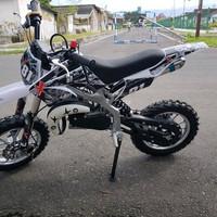 Motor mini cross 2 T 50cc trail terbaru ban 10 inci