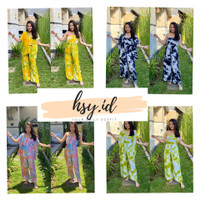 One Set Tie Dye kemben 3 In One ( kulot, kemben dan outer )