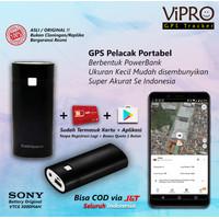GPS Portabel Powerbank Pelacak Anak Suami Istri Tas Koper Mobil Motor - Tanpa Sadap