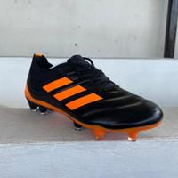 Sepatu Bola Adidas Copa 20.1 Black Orange