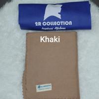 hijab 2R Collection Segi Empat LC bahan Voal warna Khaki