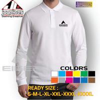Polo shirt Kaos Kerah Lengan Panjang Eiger Tropical