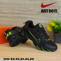 sepatu nike blade hitam hijau import berkualitas