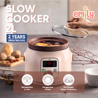 Emily Slow Cooker Claypot 2L / Baby & Family Food Maker