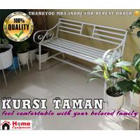 Kursi Taman Minimalis 125cm Bangku Taman Kokoh dan Elegan Harga Murah