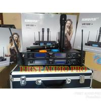 Mic Wireless Shure UR18D+ / UR18D FREE KOPER MULTI CHANNEL 4 antena