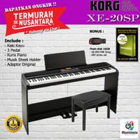 Korg XE20SP + Kursi / XE20-SP / XE-20SP / XE 20SP / XE20 SP / XE 20 SP