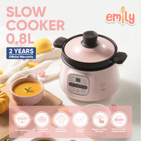 Emily Slow Cooker Claypot 0.8L / Baby & Family Food Maker