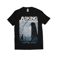 ASKING ALEXANDRIA - THE BLACK   KAOS BAND   METAL   T-SHIRT   GILDAN