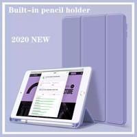 Smart Case iPad 8 10.2 2020 Silikon With Slot Holder Pencil
