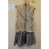 Baju dress anak perempuan CNY congsam preloved / bekas / second