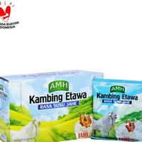 Susu kambing etawa full cream AMH (sachet) dengan jahe merah