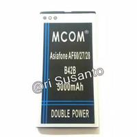 Baterai Asiafone AF60 / AF27 / AF28 B42B Double Power 5000mAh Murah