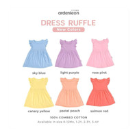 ARDENLEON Dress Ruffle (New Color)