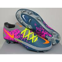 Sepatu Bola - Soccer Nike Phantom GT Elite Grey Pink Turquoise - FG