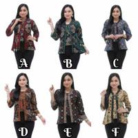 Blouse Bolero Batik kantor Murah - M L XL XXL XXXL XXXXL -Jumbo Ready